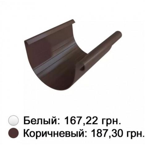 Фото - Желоб коричневый 125 мм Альта-Профиль