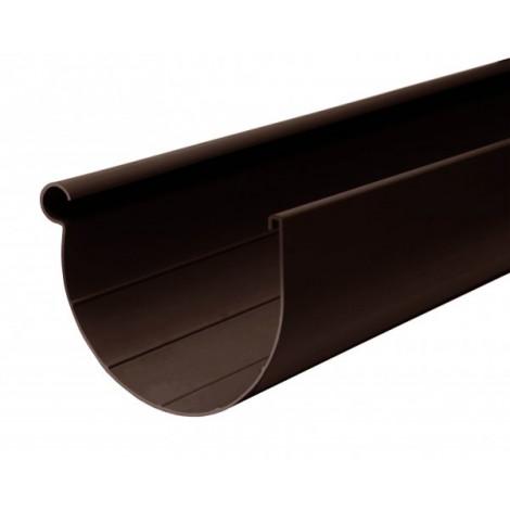 Фото - Желоб 90мм L=3м RAINWAY коричневый