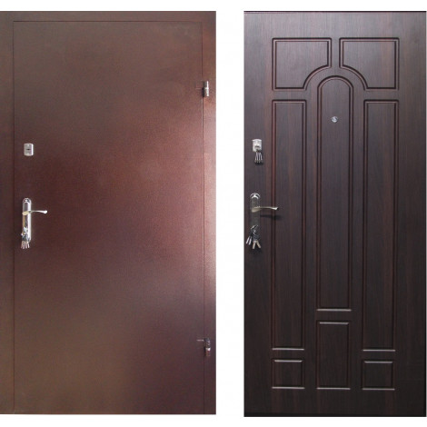 Фото - Входная дверь REDFORT Металл МДФ Арка 2 контура (Эконом)