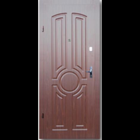 Фото - Входная дверь Форт эконом Тектон орех лесной