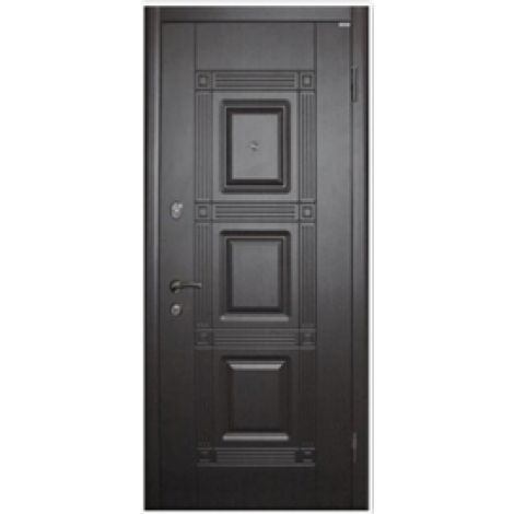 Фото - Входная дверь Форт Премиум Квадро венге