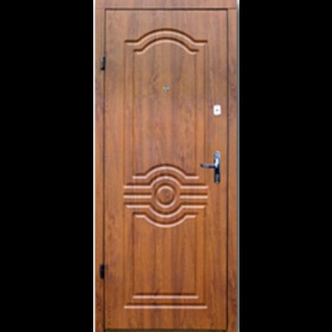 Фото - Входная дверь Форт эконом Лондон дуб золотой