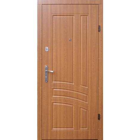 Входная дверь Форт эконом Сириус дуб золотой
