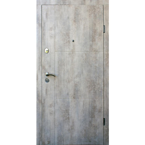 Фото - Входная дверь ФОРТ Стандарт Эста бетон светлый