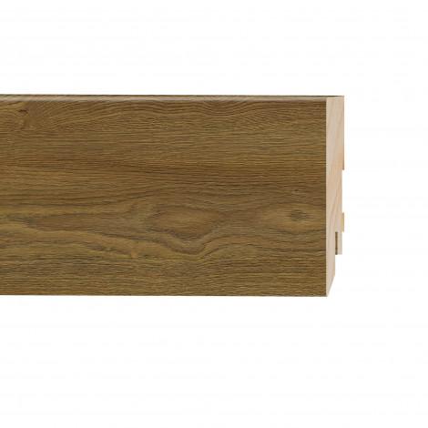 Фото - Плинтус Classen Prestige, Дуб Абрантес (2400x80x16) Светло-коричневый 2233695