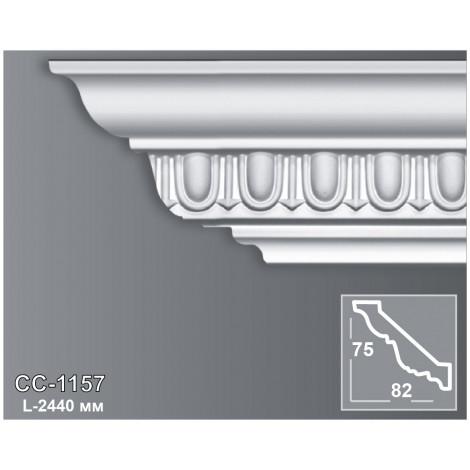 Фото - Карниз потолочный с орнаментом Периметр CC-1157