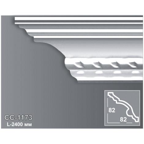Фото - Карниз потолочный с орнаментом Периметр CC-1173