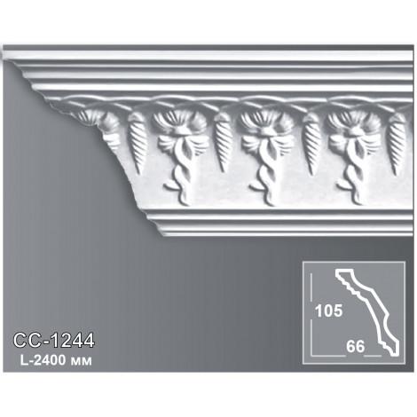Фото - Карниз потолочный с орнаментом Периметр CC-1244
