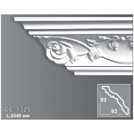 Фото - Карниз потолочный с орнаментом Периметр CC-1325