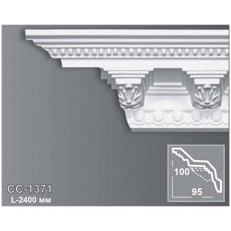 Фото - Карниз потолочный с орнаментом Периметр CC-1371