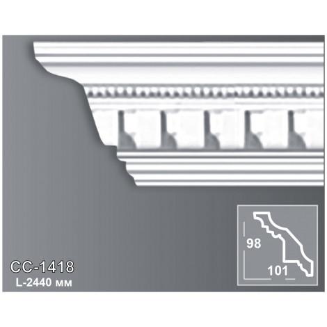 Фото - Карниз потолочный с орнаментом Периметр CC-1418