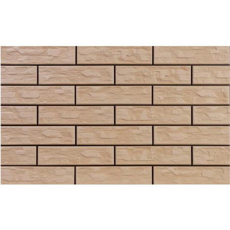 Фото - Плитка Cerrad Cer 11 BIS Cappucino 7,4x30x0.9 (Фасадный камень)