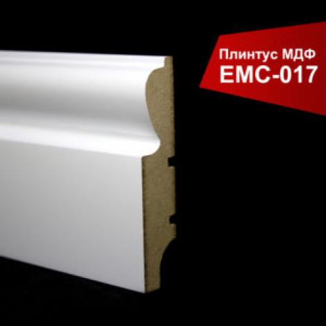 Фото - Плинтус крашенный МДФ EMC белый матовый 017