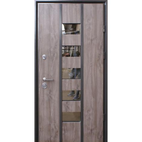 Входная дверь Страж Пруф Стрим винорит дуб серый