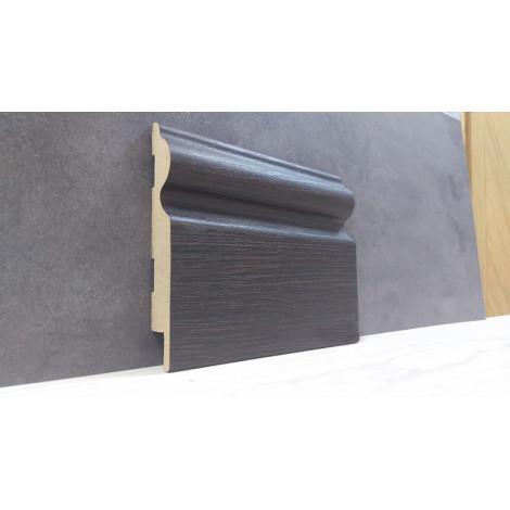 Фото - Плинтус Супер Профиль Венге 2800x110x16 Темно коричневый 16110v
