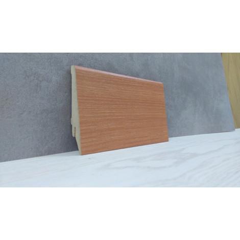 Фото - Плинтус Супер Профиль Вишня 2800x80x16 Светло коричневый 1682vish