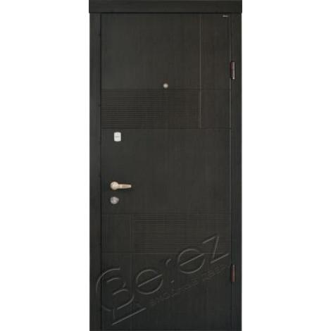 Фото - Входная дверь Стандарт Калифорния венге темный