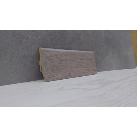 Плинтус Супер Профиль Старое Дерево 2800x55x19 Серо коричневый 1255sd