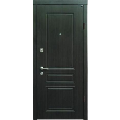 Фото - Входная дверь Берез Стандарт Strado Рубин венге темный