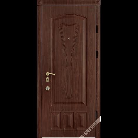 Фото - Входная дверь Страж Элегант орех темный