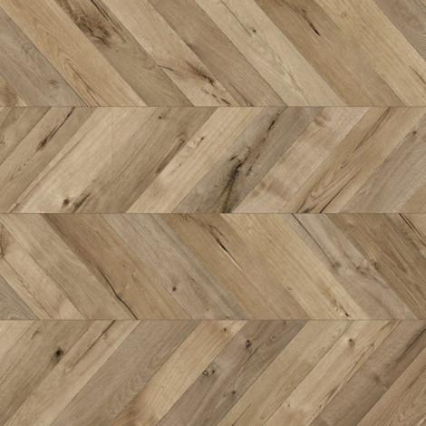 Фото - Ламинат Kaindl Natural Touch 8.0 Wide Plank FISHbone, Дуб Фортрес Рокеста K4378