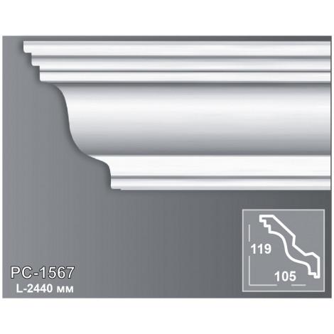 Фото - Карниз потолочный Периметр PC-1567