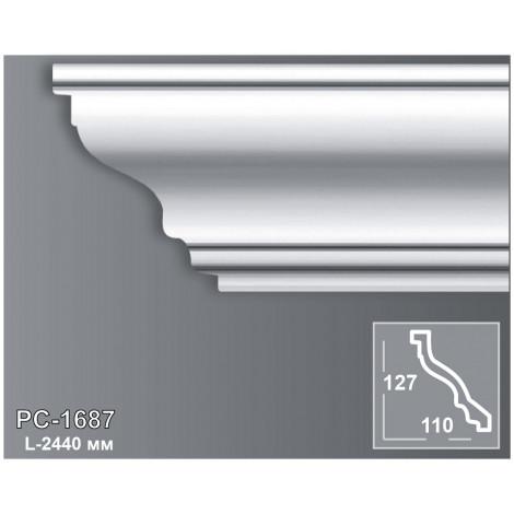 Фото - Карниз потолочный Периметр PC-1687