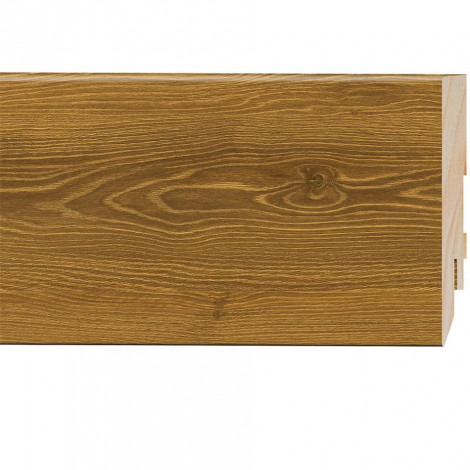 Фото - Плинтус Classen Prestige, Дуб Аргента Карамель (2400x80x16) Светло-коричневый 223778