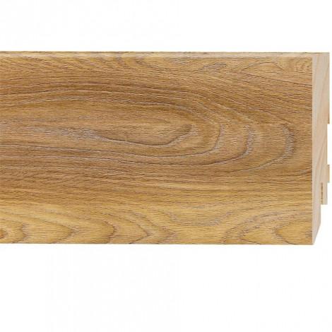 Фото - Плинтус Classen Prestige, Дуб Верден Медовый (2400x80x16) Светло-коричневый 222770