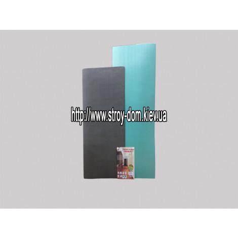 Подложка полистирольная к напольным покрытиям Profi, 2 мм