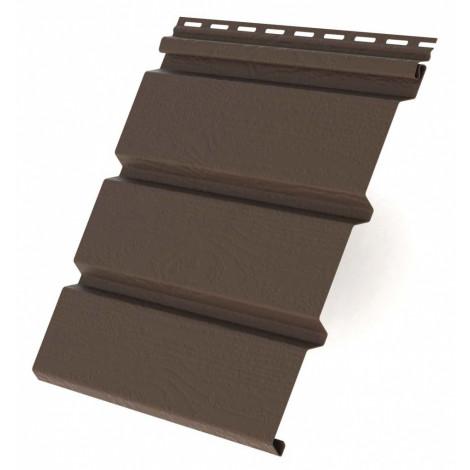 Фото - Виниловый софит RAINWAY коричневый