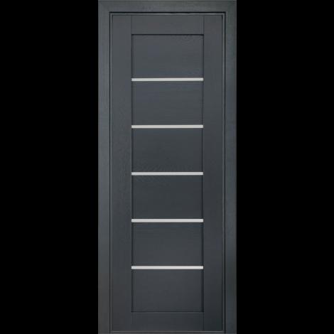Фото - Дверь межкомнатная модель 137 (глухая/остекленная) дуб antracit grey Terminus