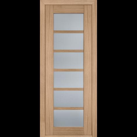 Фото - Дверь межкомнатная модель 137 (глухая/остекленная) дуб светлый Terminus