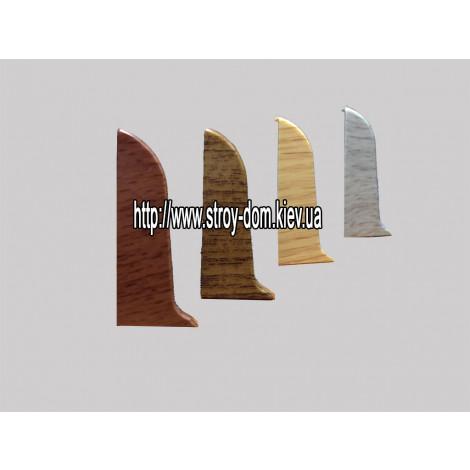 Фото - Заглушка правая 'Plint' AM60 - 09 клён серый