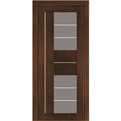 Фото - Дверь межкомнатная модель 172 дуб браун Terminus