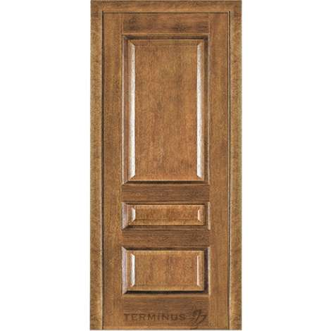 Фото - Дверь межкомнатная модель 53 (глухая/остекленная) дуб даймонд Terminus