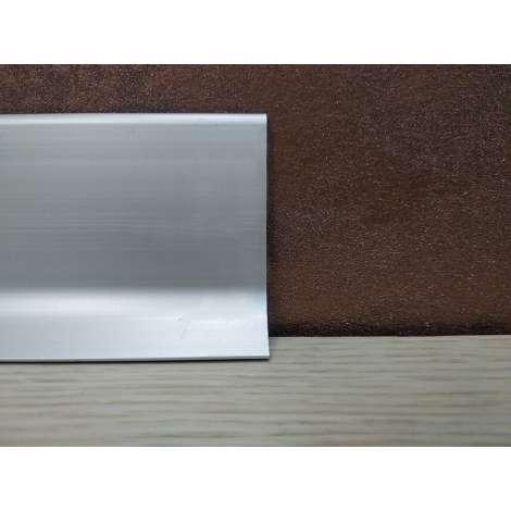 Фото - Алюминиевый плинтус Luciano alluboard серебро 2000x60x11 Серебро BM6011A