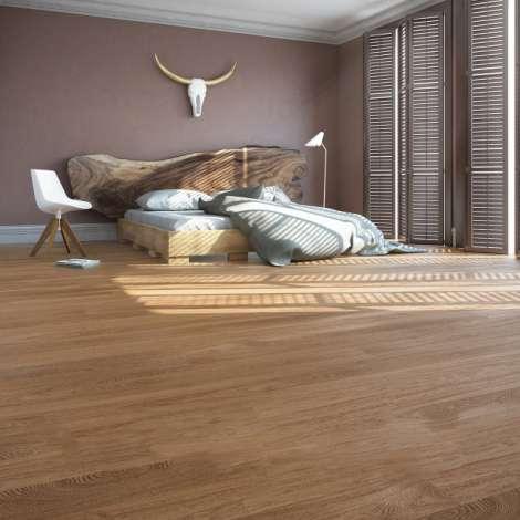 Фото - Паркетная доска Baltic wood jeans five-4 him дуб cottage 1R amber&amber мат.лак, браш 2G