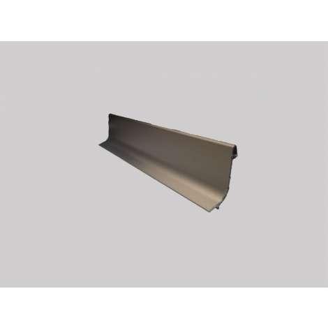 Фото - Плинтус алюминиевый Multi Effect Q63 бронза клей (BRĄZ) размер 16.8*40*2700