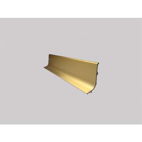 Фото - Плинтус алюминиевый Multi Effect Q63 золото клей (ZŁOTO) размер 16.8*40*2700