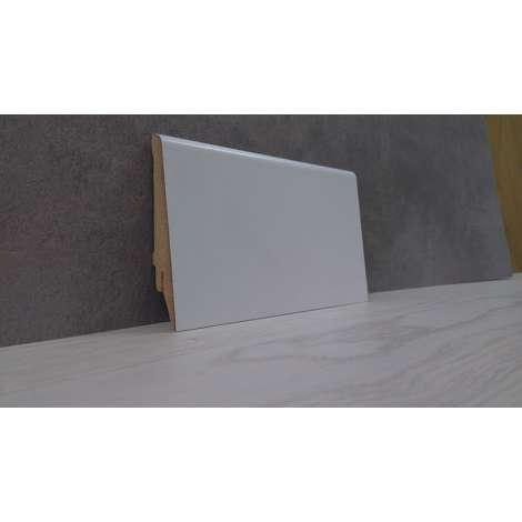 Фото - Плинтус Супер Профиль 2800x80x16 Белый 1682b