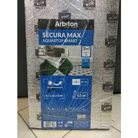 Фото - Подложка Arbiton Secura Max Aquastop Smart 5 мм