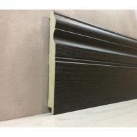 Картинка - Плинтус Супер Профиль Венге 2800x144x16 Темно коричневый 16145v