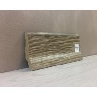 Картинка - Плинтус Супер Профиль Монблан браун 2800x62x23 Серо коричневый 1662mb