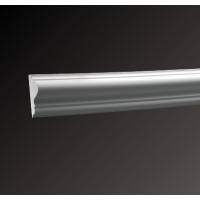 Картинка - Молдинг с гладким профилем Европласт 6.51.301
