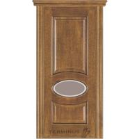Картинка - Дверь межкомнатная модель 55 (глухая/остекленная) дуб даймонд Terminus