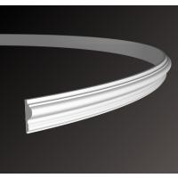 Картинка - Молдинг с гладким профилем Европласт 1.51.301 (гибкий)