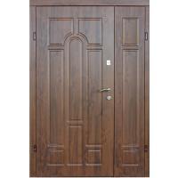 Входная дверь REDFORT Арка Дуб бронзовый ПВХ-02