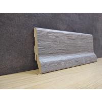 Картинка - Плинтус Супер Профиль Дуб Сонома серый 2800x60x23  Серый 1662dson