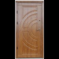 Входная дверь Форт Премиум Греция  дуб золотой